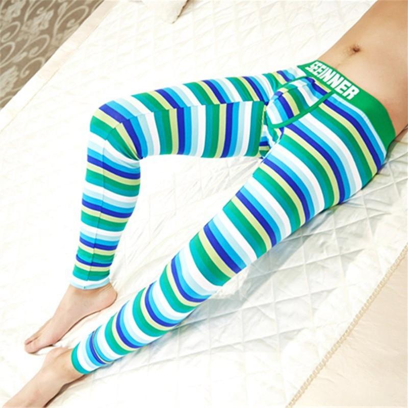 XL Size Men's Sleep Bottoms Lounge Pants Pajamas Cotton Sleepwear Comfortable Male Home Wear Thermal Underwear Pyjamas