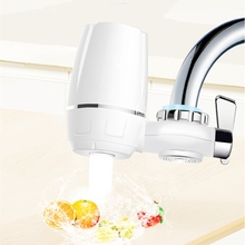 цена на kitchen Faucets Filter Tap water filter Household water purifier washable Ceramic filter Mini water purification