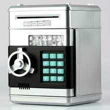 Электронный Копилка Сейф коробки для денег детей Цифровые Монеты