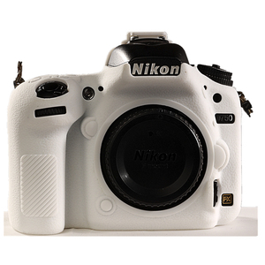 Image 4 - for Nikon D750 Cover Silicone Camera Case for Nikon D750 Camera Protector Cover High Grade Litchi Texture Non slip
