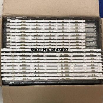 New Original 18 PCS/set LED strip for Sa msung UE55JU6800 UE55JU6800K V5DR_550SCA_R0 V5DR_550SCB_R0 BN96-38482A BN96-38481
