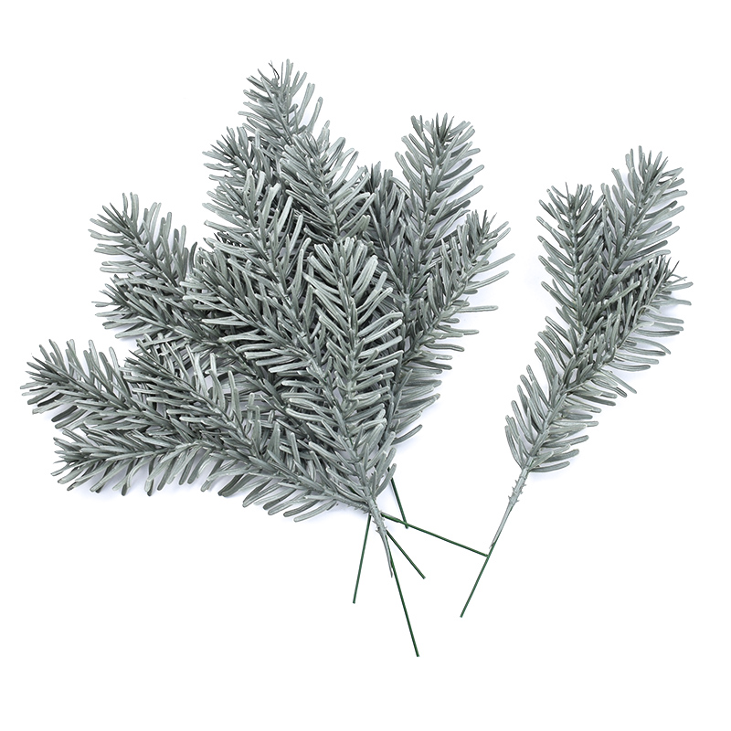 2pcs Plastic Christmas Tree Artificial Plants Wedding Decorative Flowers Pine Needle Home Decor Accessories Bridal Clearance