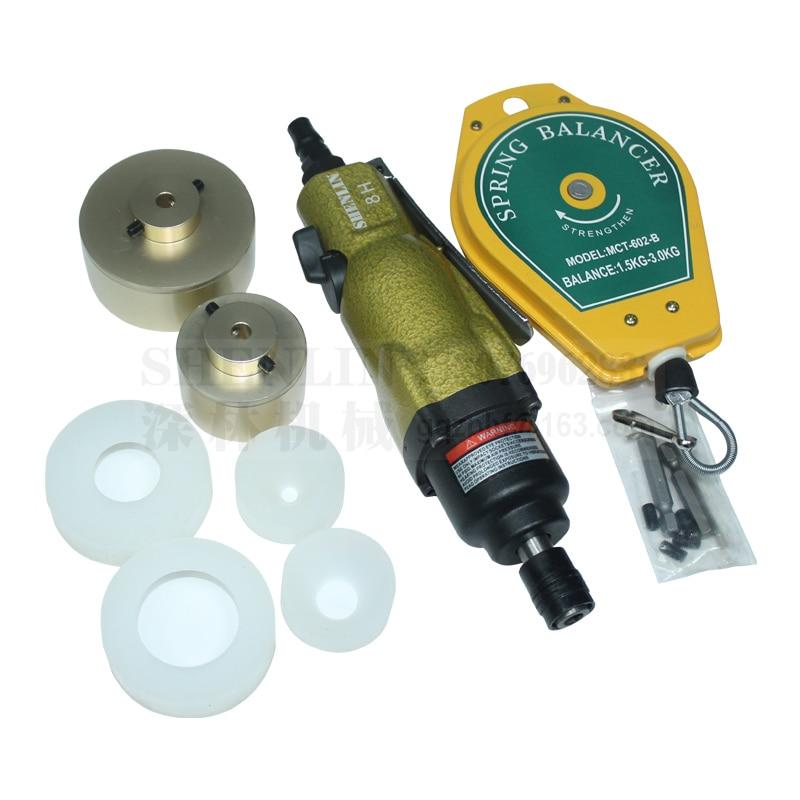 Kupakológép 80 kg-os nyomatékkal pneumatikus palackvédő - Elektromos kéziszerszámok - Fénykép 1