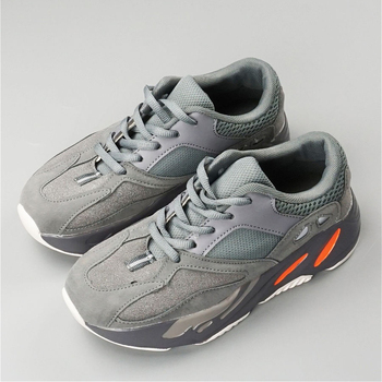 bbx/2020 new frosted shoes for boys and girls, fashionable running shoes for children, grey breathable running shoes