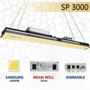 2020 Newest Mars Hydro SP 3000 Samsung LM301B And Osram Full Spectrum LED Grow Lights Strip Grow Tent Hydroponics Veg And Flower