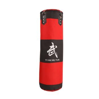 60cm/80cm/100cm/120cm Oxford cloth hanging boxing punching bag boxer Training sandbag High-quality hollow sandbag for fitness top quality hollow sand bag boxing sandbag punching bag with hanging chain rotating hook safety buckle