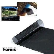 Parasol de PVC para ventana de coche, pegatina electrostática de protección solar, película adhesiva, 20/25/35/50, 1 rollo