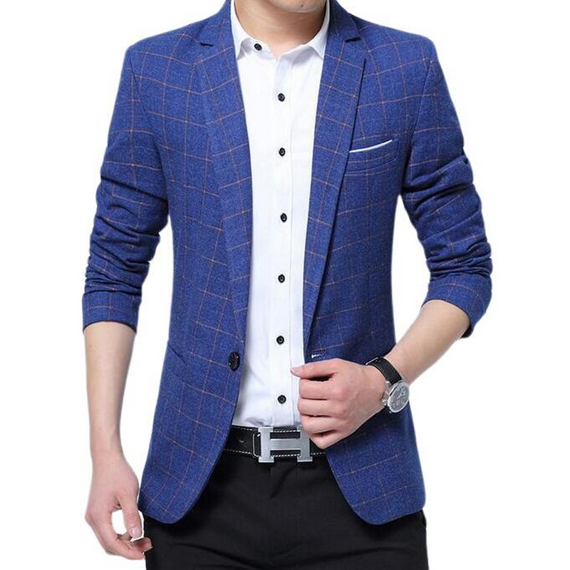Fashionable Men's Casual Business Style Blazer