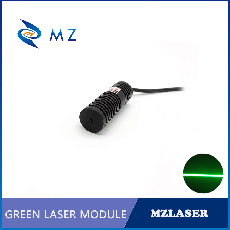 520nm 120mw 100mw 80mw 50mw 110deg With Thin Beam Green Line Laser Module For Room Escape/ Maze Props/ Bar Dance Lamp