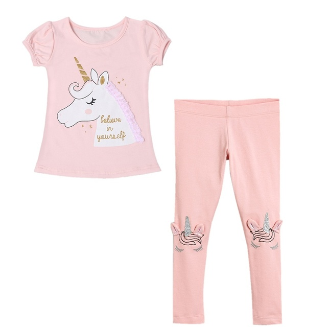 Kids Licorne-Tees Cotton Pants