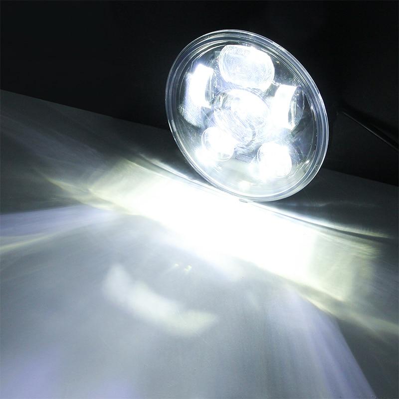 5.75 Inch Motorcycle Led Coven Is Light Intensity Lights Waterproof Anti-Fog Energy Saving Highlight Headlights 3
