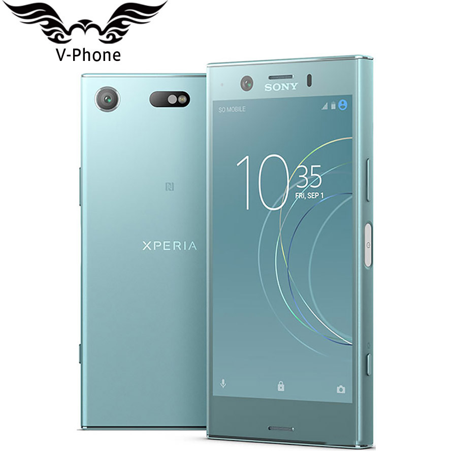 Brand New Original Sony Xperia XZ1 Compact G8441 4GB 32GB Mobile Phone Snapdragon 835 Octa Core 4.6