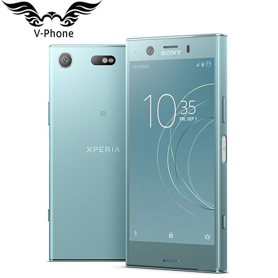 Brand New Original Sony Xperia XZ1 Compact G8441 4GB 32GB Mobile Phone Snapdragon 835 Octa Core 4.6