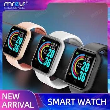 Smart Watches Men Women 2020 Android Smart Watch Kids Smartwatch Bluetooth Heart Rate Monitor Fitness Watch Smart 2020 Connect 1