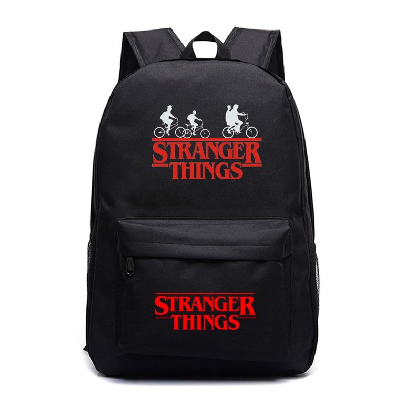 Stranger Things 3 Travel Backpack Kids Beautiful Rucksack New Pattern Boys Girls Teens School Mochila Laptop Bags For Men Women