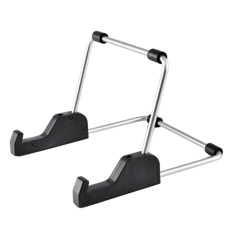 Foldable Aluminum Alloy Tablet Stand Adjustable Portable Metal Holder Cradle for Computer Tablet Devices Accessories