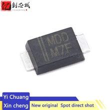 100 pces novo 1n4007f m7f smaf smd 1n4007 diodo retificador 1a 1000v