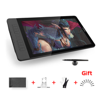GAOMON PD1560 15.6 inch 10 Keys Art Professional Graphics Tablet with Screen Pen Drawing Tablet Monitor for Win&Mac with Gifts