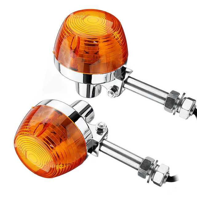 Bright Small Lamp Replacement Indicator Turn Signal Light Easy Install Amber Exterior Parts Motorcycle For Honda C70 CT70 CT90