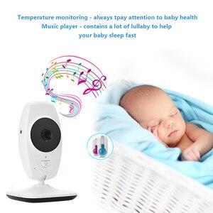 """Image 5 - 7 """"bezprzewodowy 720P HD niania elektroniczna Baby Monitor z dwoma aparat cyfrowy IR Night Vision domofon niania elektroniczna niania niania elektroniczna Baby Monitor obsługuje podzielony ekran"""