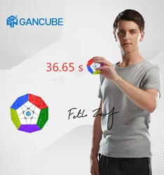 GAN new megaminx magic cubes stickerless professional Precise magnetic competition cubo magico 12 sides puzzle educational toys