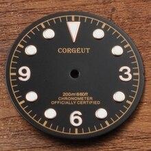 Части часов, 30,5 мм Циферблат подходит Miyota 8205/8215, Mingzhu DG2813/3804 механизм