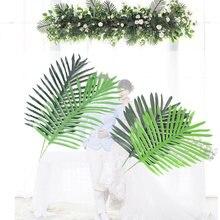 Искусственные тропические растения 12 шт/лот искусственные Пальмовые