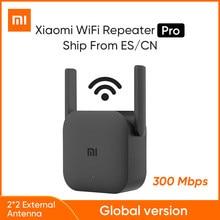Xiaomi Mijia – répéteur WiFi sans fil Mi Pro, 300 mbps, 2.4 ghz, 2 antennes, pour la maison, Version internationale