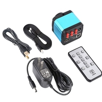 EASY 14Mp Hdmi 1080P Hd Usb Digital Industry Microscope Camera Tf Card Video Microscope Camera/Us Plug