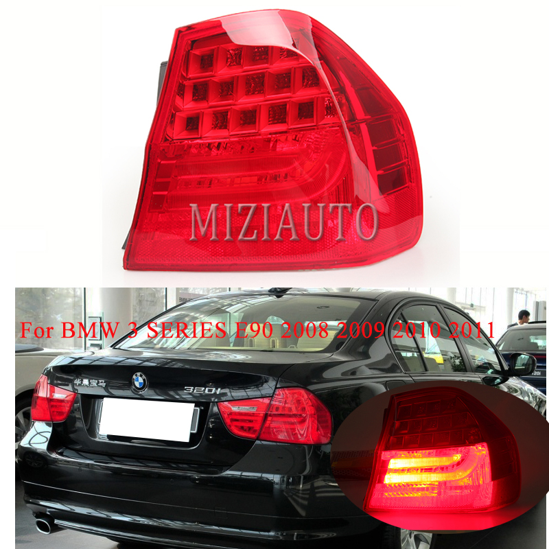 For BMW 3 SERIES E90 2008 2009 2010 2011 Rear Tail Light Brake Light Rear Bumper Light Tail Stop Lamp turn signal taillights image