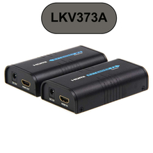 يصل إلى 120 متر HDMI موسع LKV373A المرسل الارسال أو المتلقي فقط V3.0 1080P بواسطة كابل cat5e/6