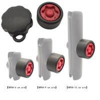 Llave y perilla de seguridad antirrobo para montaje en RAM, tamaño de 1 pulgada de diámetro, enchufe de brazo para soporte de teléfono de motocicleta y coche