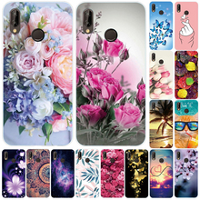 For Huawei Y9 2019 Case TPU Back Cover For Huawei Y9 Prime 2019 Bumper Silicone Black