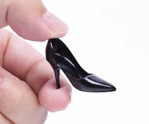 Image 2 - 1/6 Scale Female Shoes Soft High heel Shoes For Phicen JIAOU Doll Action Figures Accessories