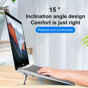 Image 5 - ขาตั้งแล็ปท็อปโลหะน้ำหนักเบาสนับสนุนโน้ตบุ๊คแล็ปท็อปผู้ถือ Cooling Bracket สำหรับ MacBook Pro Air DELL HP