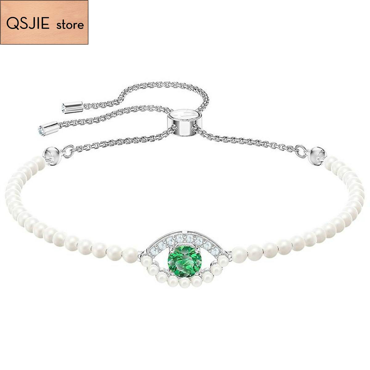 High quality SWA original high lucky bracelet, green, factory exquisite craftsmanship Bracelet