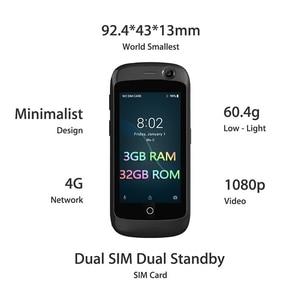 Image 2 - Smartphone unihertzs jelly pro 3gb + 32gb, o menor smartphone 4g do mundo, android 8.1 oreo desbloqueado smartphone preto