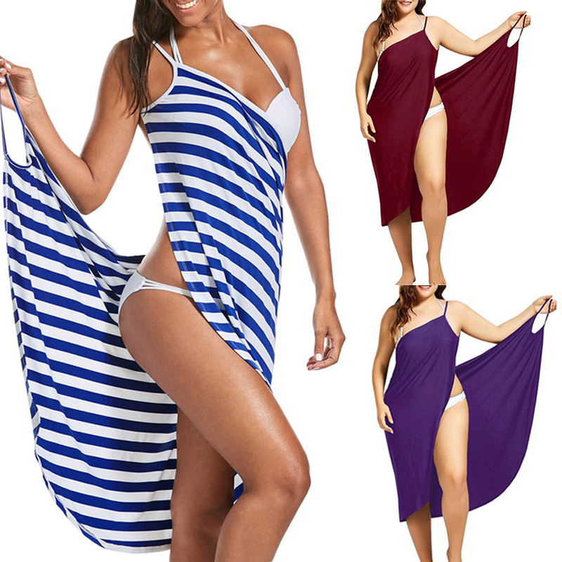 2020 Towel Dress Vestidos Plus Size S-5XL 1