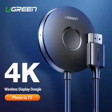 Ugreen HDMI Wireless Display Receiver 5G WiFi 4K Layar Ponsel Cast Mirroring Adaptor Dongle untuk iPhone Mac IOS android Ke TV(China)