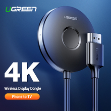 Ugreen HDMI Wireless Display Receiver 5G WiFi 4K Mobile Screen Cast Mirroring Ad