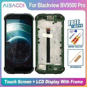 Image 1 - Pantalla táctil Original de 5,7 pulgadas, pantalla LCD de 2160X1080, montaje de marco, repuesto para Blackview BV9500/BV9500 Pro/BV9500 Plus