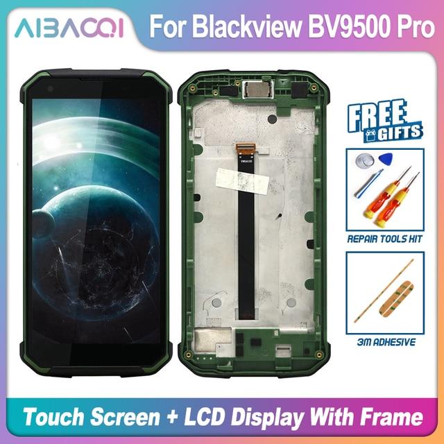 Pantalla táctil Original de 5,7 pulgadas, pantalla LCD de 2160X1080, montaje de marco, repuesto para Blackview BV9500/BV9500 Pro/BV9500 Plus
