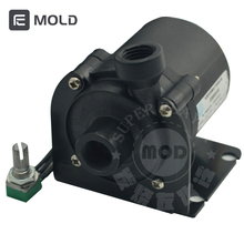 Super Slient Computer Case SC600 Waterpomp Cooling Black Keramische Pc Pomp Ondersteuning Speed Control 12V 4pin, drop Shipping