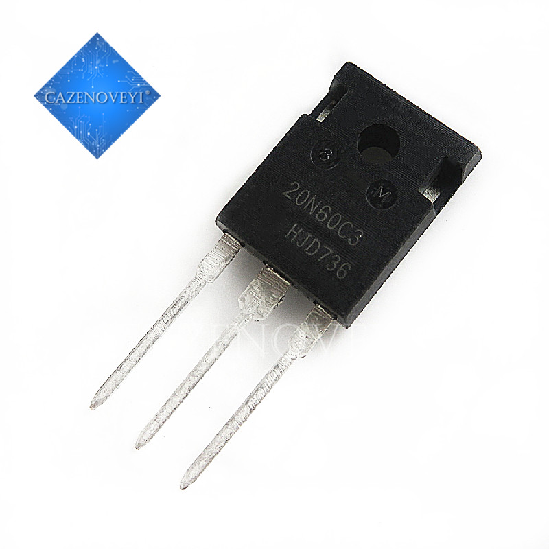 5pcs/lot SPW20N60C3 20N60C3 TO-247 In Stock