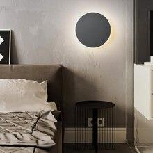 Круглый светодиодный настенный светильник с сенсорным выключателем