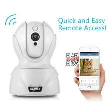 Annke 720P Smart Wireless Security IP Camera Wi-fi Pan & Tilt Two-Way Audio Indoor CCTV Camera for Smartphone PC Tablet(China)