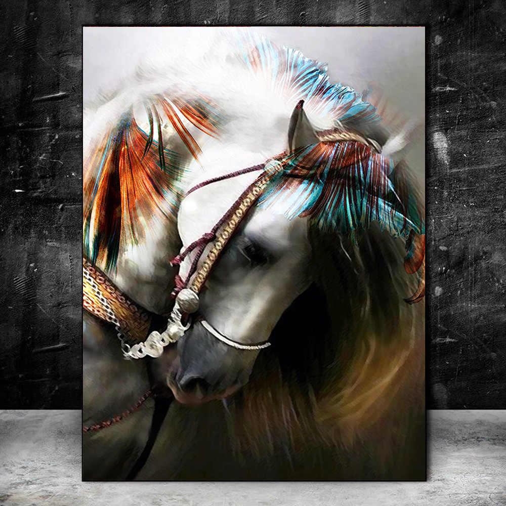 Постер с лошадью