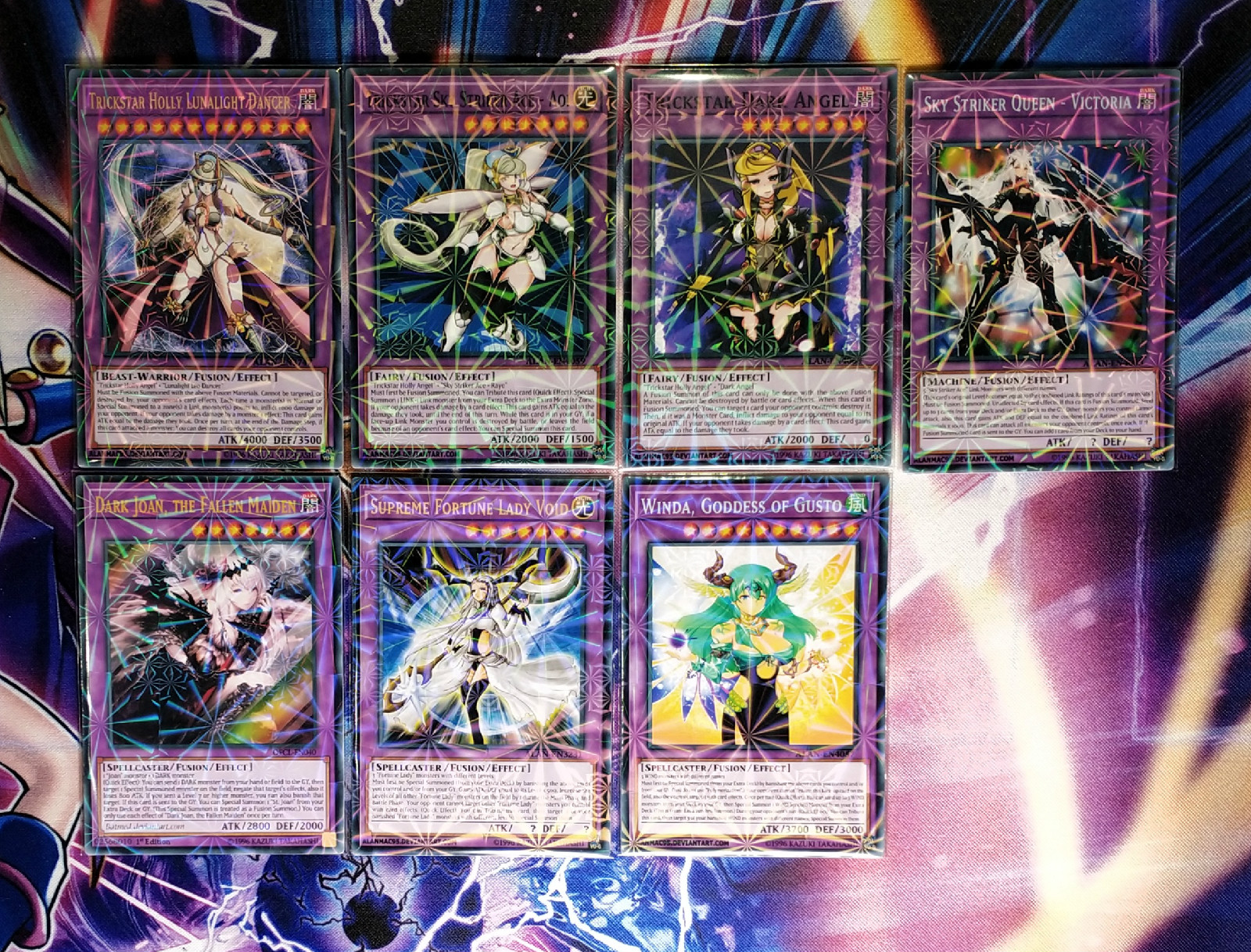 7pcs/set Yu Gi Oh DIY Colorful Toys Hobbies Hobby Collectibles Game Collection Anime Cards