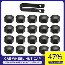 Wheel Nut Cap For Tesla Model 3 Wheel Nut Covers Lug Wheel Cap Lug Nut Cover Puller Kit 21pcs Two Colors Car Styling