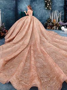 Wedding-Dress Pregnancy-Gown Maternity Long-Sleeve Winter Abaya Bride Retro 3M Veil Saudi